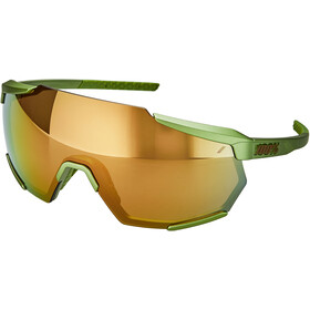 100% Racetrap Glasses matte metallic viperidae/bronze mirror